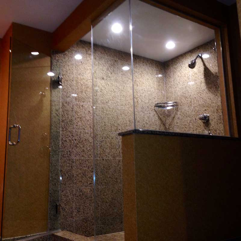 Frameless Shower Doors & Sidelites