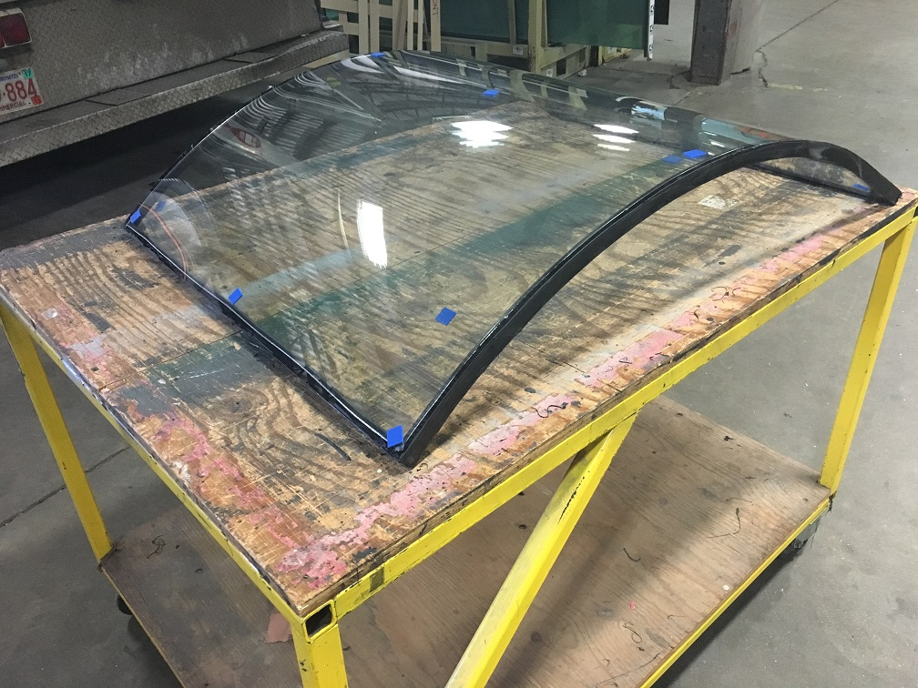 Curved Insulated Glass Unit
