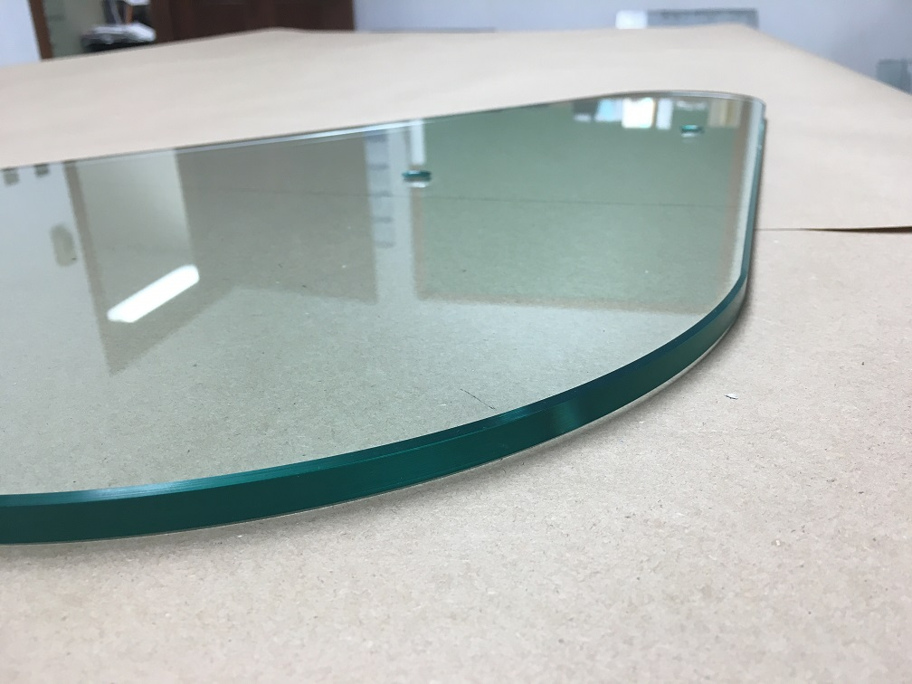 Curved Polished Edge