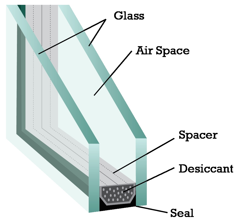 double pane window fogging repair fogged window residential shower glass replacement